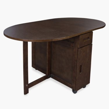 Butterfly Oval Dining Table Without Chairs - 4 Seater