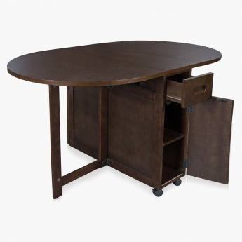 Butterfly Oval Dining Table Without Chairs