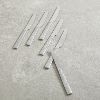 Laek Silver Butter Knives Set