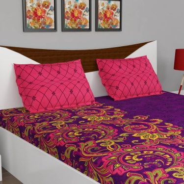 Emerald Set Of 2 Double Bedsheet -6pc