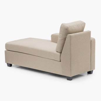 Signature Arden Left Arm Chaise Beige