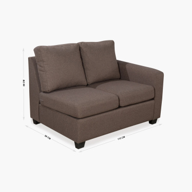 Signature Arden Two-Seater Right Arm Sofa