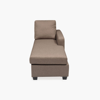 Signature Arden Right Arm Chaise Brown