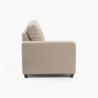 Signature Arden Fabric Left Arm Sofa -1 Seater Beige