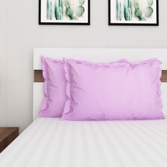 Signature Solid Pillow Covers - 2 Pcs.