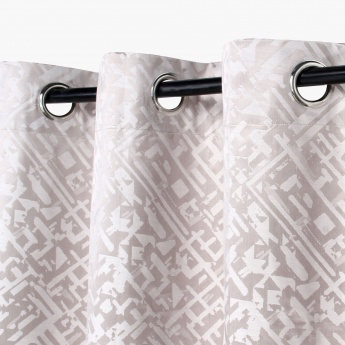Griffin Jacquard Design Window Curtain