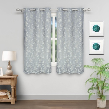 JADE Window Curtain Set- 2 Pcs.