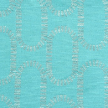Jade Jacquard Design Window Curtain