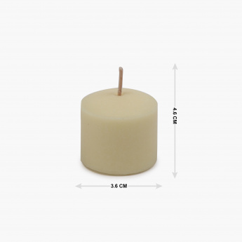 Galaxy Selena Vanilla Votive Candles Set-6 Pcs.