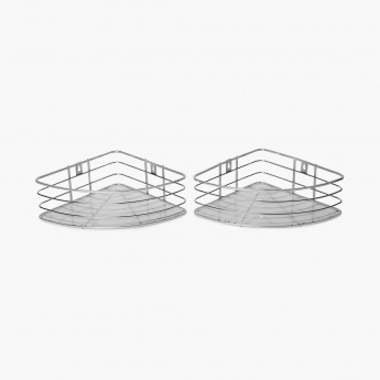 Burlington Wall-Mounted Shower Caddy- Set Of 2 Pcs.