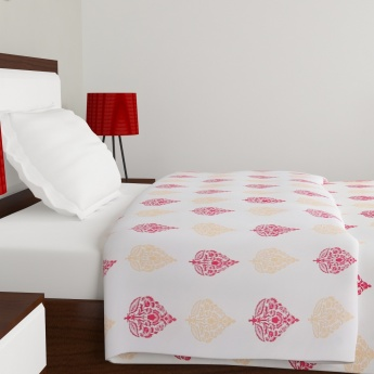 Moksha Motif Printed Single Bed Dohar