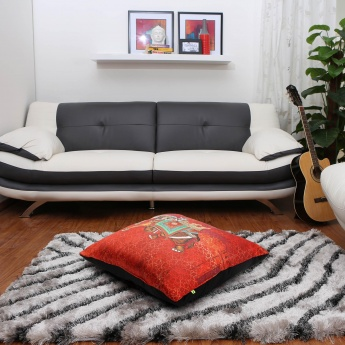 Aurora Matang Ethnic Print Filled Cushion