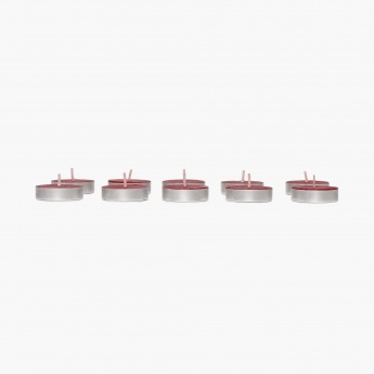 Colour Connect Tealight Set-10 Pcs. Raspberry