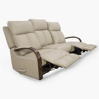 Watson Three Seater Recliner Chair Beige