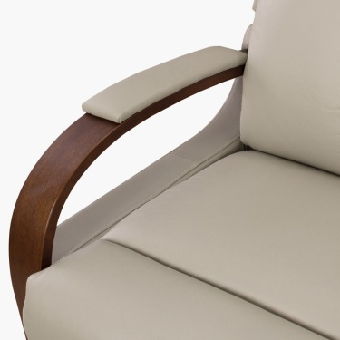 Watson Two Seater Recliner Chair Beige