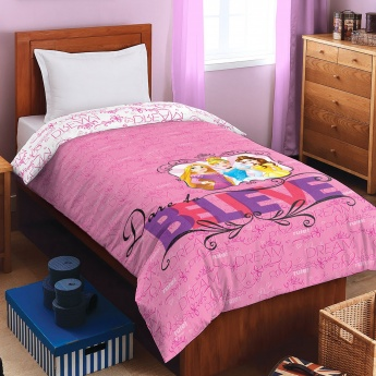 SPACES Disney Princess Print Single Bed Sheet