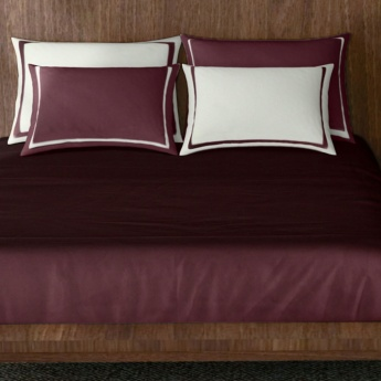 SPACES Solid Double Bed Sheets - Set of 3 Pcs.