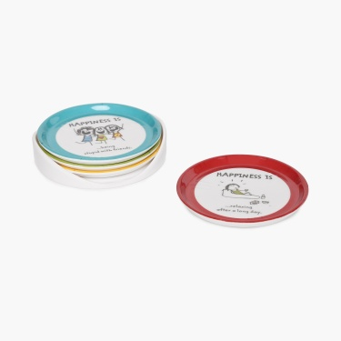 Aleka Happiness Coaster Set- Pack Of 4 Pcs.