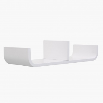 Wilson C Shaped Decor Shelf