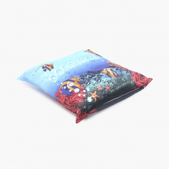 Doraemon Printed Cushion Cover-Set Of 2 Pcs.