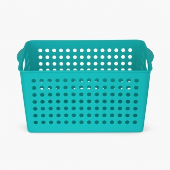 Shannon Solid Perforated Storage Basket