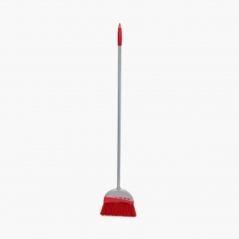 Indus Abstract Floor Broom With Handle