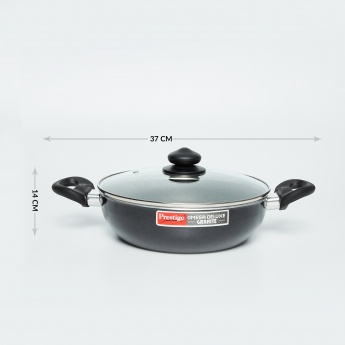 PRESTIGE Cookware Set - 1 Kadai with Lid &1 Fry Pan