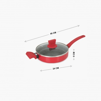 Elite Magnus Sauce Pan With Glass Lid