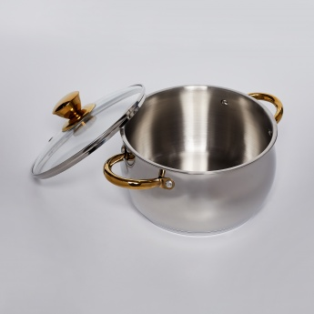 BERGNER Stainless Steel Casserole Set with Lid - 3 Pcs.