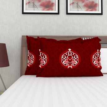 HAROLD Cotton Printed Pillow Covers-Set Of 2 Pcs.