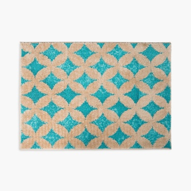 Cloud Crystal Peak Contemporary Tufted Rug