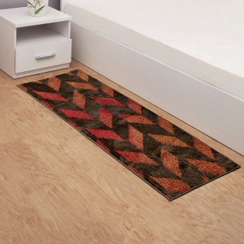 Cloud Brocade Contemporary Designed Rug