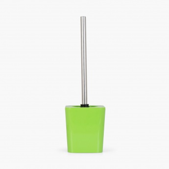 HILDA SALONGA Solid Plastic Square Toilet Brush Holder