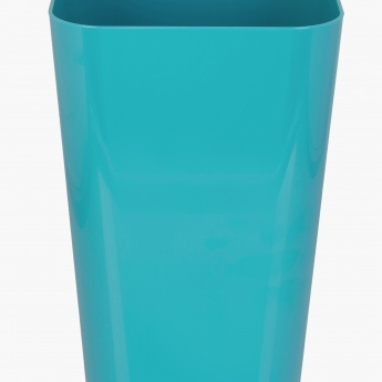 HILDA DAINTREE Solid Plastic Square Dustbin