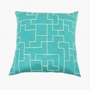 FLOSS Jacquard Cushion Covers - Set Of 2 Pcs