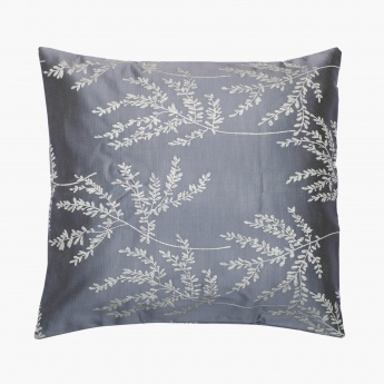 Floss Floral Cushion Covers-Set Of 2 Pcs.