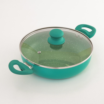Delight Non-Stick Kadhai With Lid