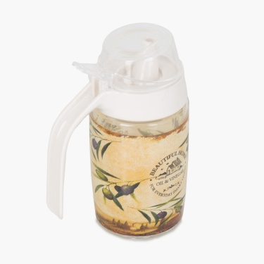 Beautiful Home Printed Oil Jar
