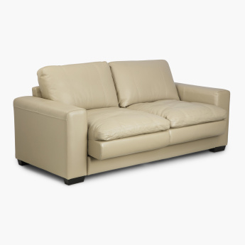 Ace Faux Leather Sofa- 3 Seater