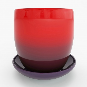 CAIRO Ombre Table Planter With Saucer