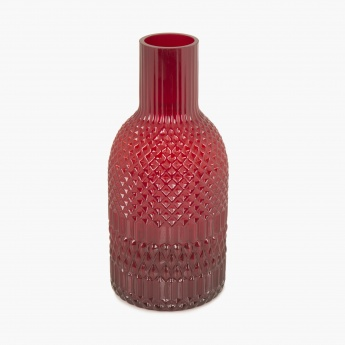 Splendid Scout Textured Glass Vase