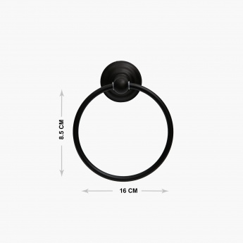 Hudson Arista Solid Towel Ring