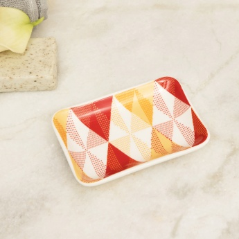 HUDSON Diamonds Printed Soap Dish