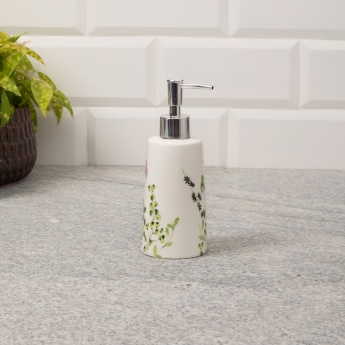 Hudson Rainforest Ceramic Soap Dispenser