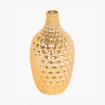 Bentley Victoria Honeycomb Textured Vase