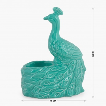 Redolence Jasmine Peacock Tea Light Holder