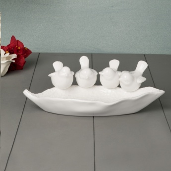 Splendid Wade Bird Design Platter