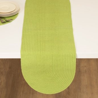 Mandarine Solid Table Runner