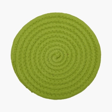 Mandarine Cotton Braided Trivets- 2 Pcs.