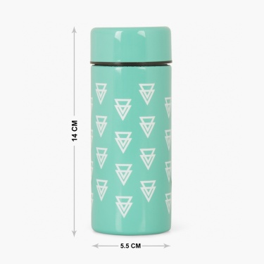 Atlantis Orlin Geometric Steel Flask - 0.2L